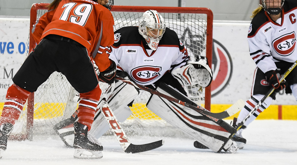 Scsu Goalies Earn Invitations To Usa Hockey National Team Goalie