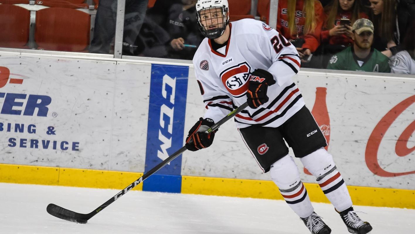 3a6bb05e Former Husky Will Borgen makes NHL debut with Buffalo - St. Cloud ...