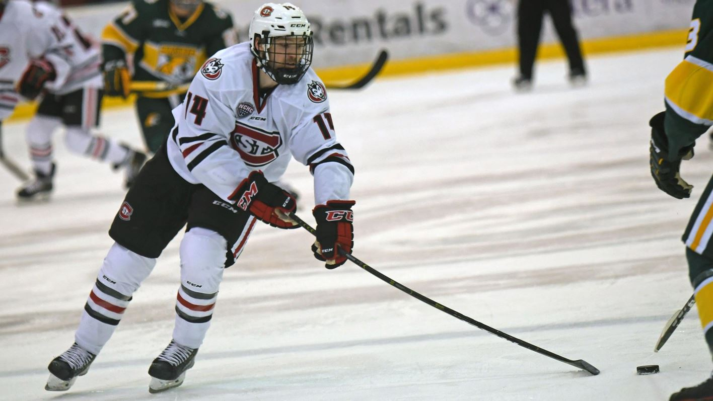 1 Huskies Return To The Ice With Road Games At Miami St Cloud