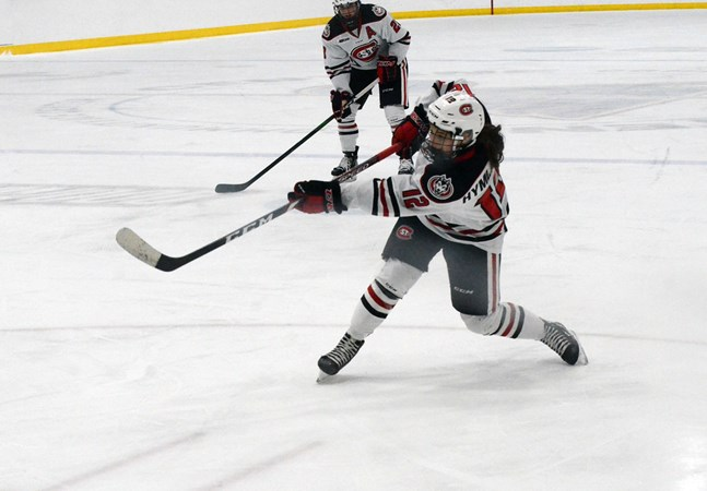 St. Cloud State's Klára Hymlárová named WCHA Player of the Week