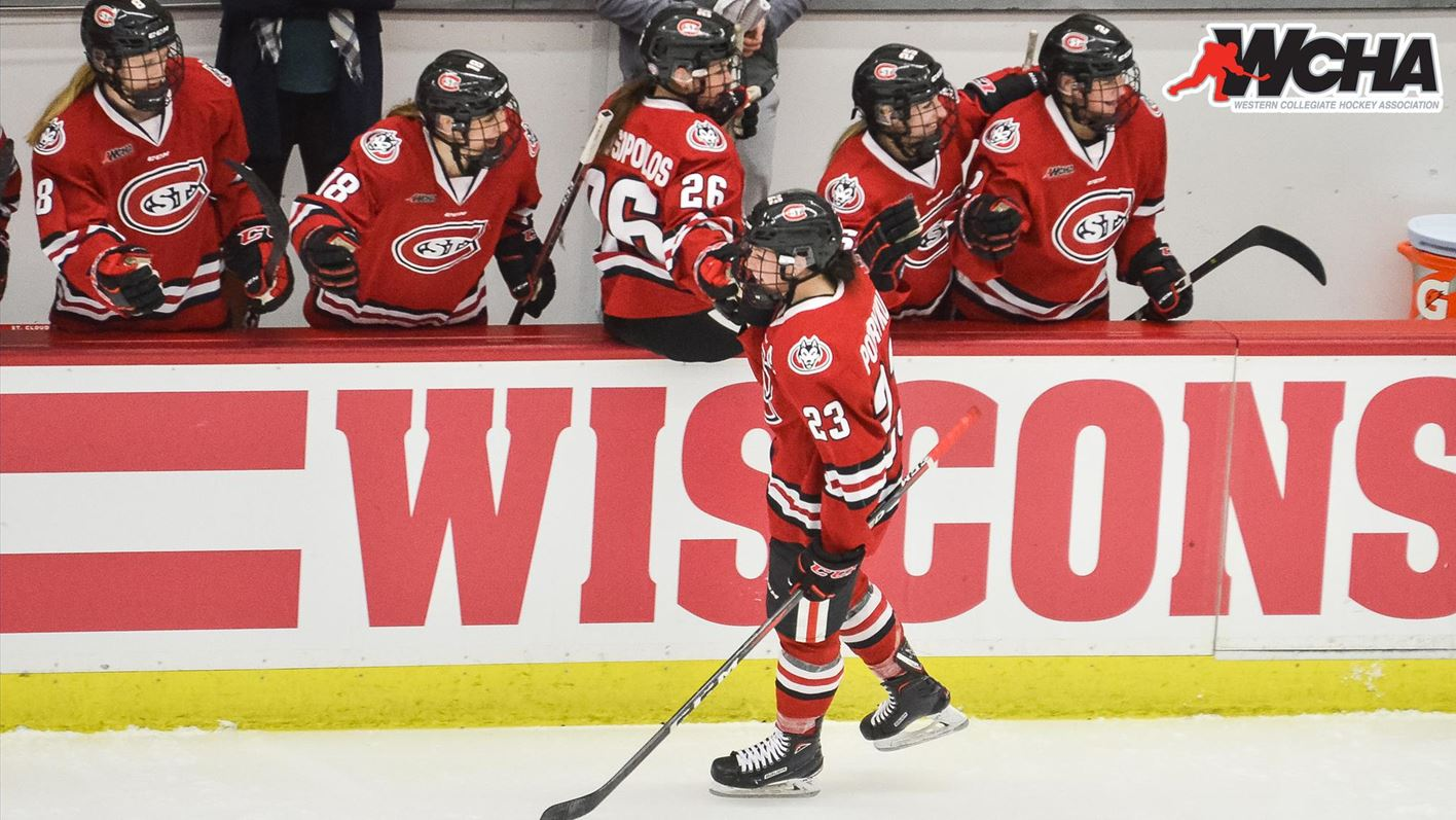 WCHA Playoffs set - Women s hockey travels to Wisconsin - St. Cloud ... fadcfc75874be