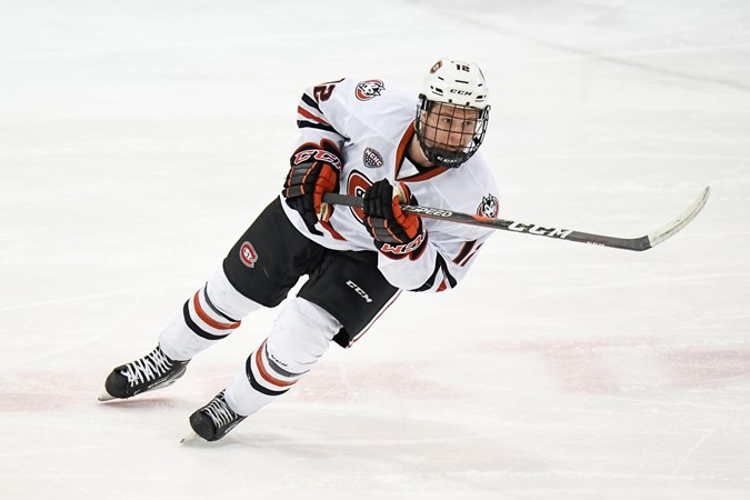 St. Cloud State's Jack Ahcan selected to 2019-20 preseason All-NCHC team