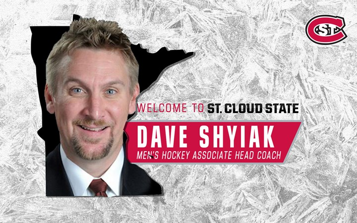 Dave Shyiak named new men's hockey Associate Head Coach at St. Cloud State - St. Cloud State University Athletics
